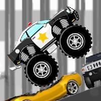 mad smash cop - hill racer gameskip