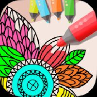 mandala coloring joy gameskip
