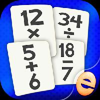 math flashcard match game