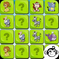 memory animal kid gameskip