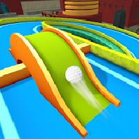 mini golf 3d city stars arcade