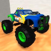 monster truck racing 3d gameskip