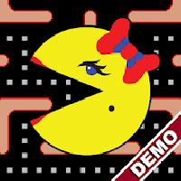 ms. pac-man demo by namco gameskip