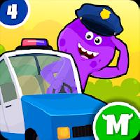 my monster town - police station games for kids gameskip