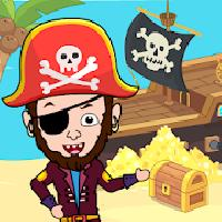 my pirate town - sea treasure island quest games gameskip