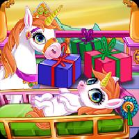 newborn unicorn welcome party gameskip