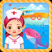 ocean doctor: sea life rescue gameskip