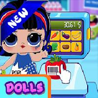 omg supermarket dolls cute gameskip