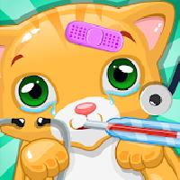 pet vet clinic-cat care game gameskip