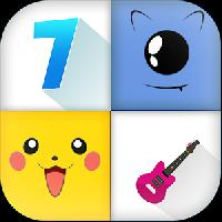 piano tap 7: pikachu tiles gameskip