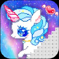 pixel artist: color number, pixel coloring book gameskip