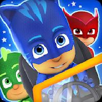 pj masks: superhero racing gameskip