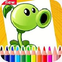 plants vs zombies coloring book gameskip