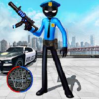police stickman rope hero gangstar crime mafia gameskip