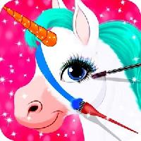 pony makeover and coloring gameskip