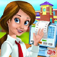 preschool cafe cashier girl:ca gameskip