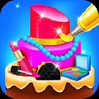 pretty makeup cake salon - kids dessert games gameskip