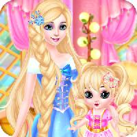 princess and baby makeup spa gameskip