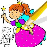 princess book coloring pages gameskip