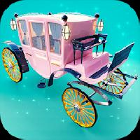 princess carriage: design and ride royal wedding sim gameskip