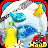 princess dish washing-cleanup gameskip