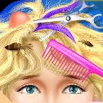 princess makeover - hair salon gameskip