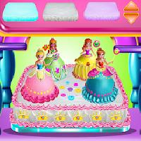 princesses cake cooking gameskip