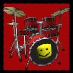 pro roblox oof drum kit - death sound meme drums gameskip