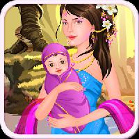 queen gives birth - baby games gameskip