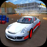 racing car driving simulator
