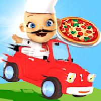 racing pizza delivery baby boy gameskip