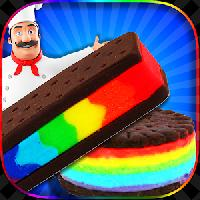 rainbow ice cream sandwiches gameskip