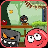red pink ball 3: bouncing ball love adventure gameskip