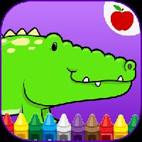 reptiles kids coloring game gameskip
