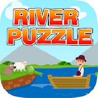 river puzzle - iq test mind gameskip