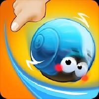 rolling snail - drawing puzzle gameskip