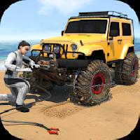 rope climber - winch based offroad driving games gameskip