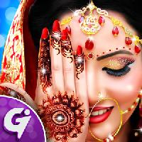 royal bridal mehndi designs pedicure manicure spa gameskip