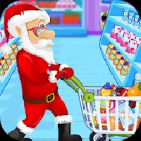 santa supermarket shopping gameskip