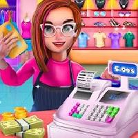 shopping mall cashier and cash register gameskip