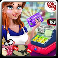 shopping mall cashier girl - cash register games gameskip