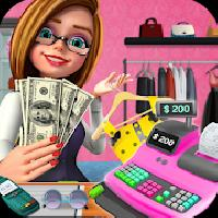 shopping mall girl cashier - cash register game gameskip