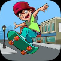 skater freestyle - risky skateboard gameskip