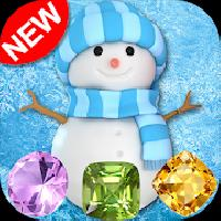 snowman games and frozen puzzles match 3 gameskip