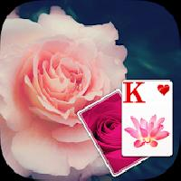 solitaire purple rose theme gameskip