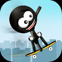 stickman big air skateboarding gameskip