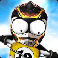 stickman downhill motocross gameskip