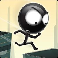 stickman roof runner gameskip