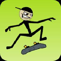 stickman skater gameskip