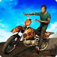 stunt bike : hill racing climb